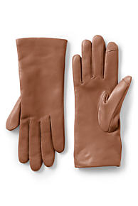 Women s Cashmere Lined Leather Texting Gloves cc7cbaaf49b8