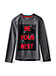 Little Boys' Long Sleeve Active Graphic Tee