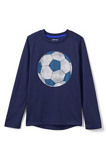 Activewear Grafik-Shirt mit langen Ärmeln für Jungen