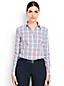 Women's Petite Supima® Tailored Non Iron Patterned Shirt