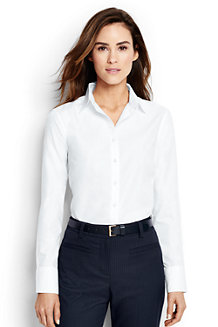 Women's Supima® Tailored Non Iron Shirt