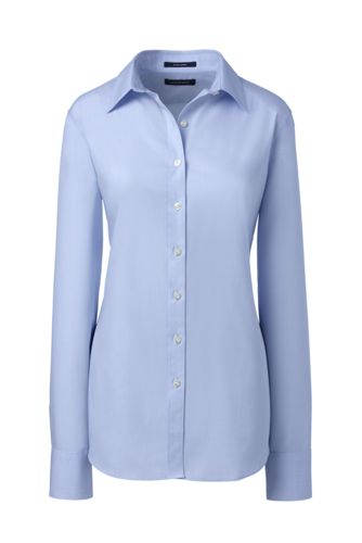 Women's Plus Supima® Tailored Non Iron Shirt