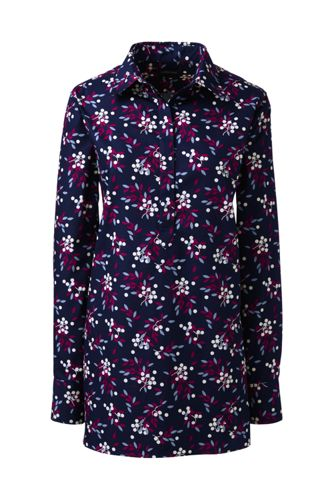 Women's Regular Print Supima® Non-Iron Tunic