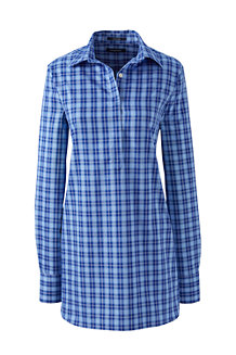Women's  Print Supima® Non-Iron Tunic