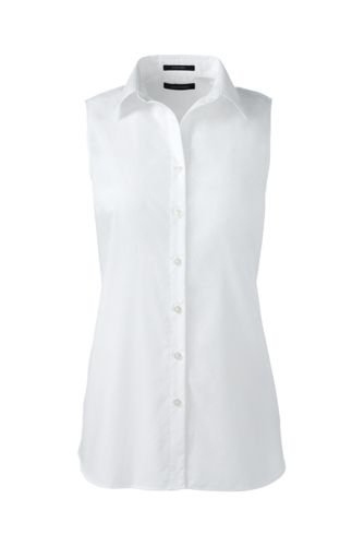 Women's Regular Sleeveless Non-Iron Shirt