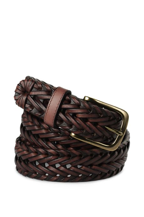 Men's Dress Braid Belt