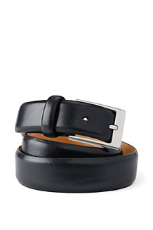 Men's Feather Edge Leather Belt