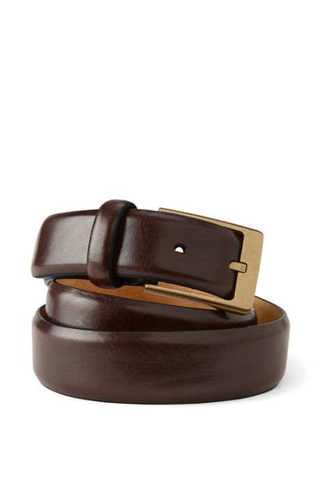 Men's Feather Edge Dress Belt