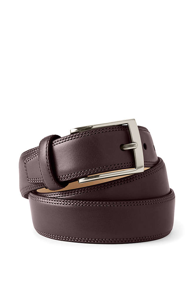 Men's Glove Leather Belt, Front