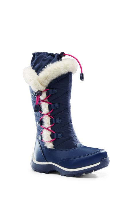 Girls Snowflake Boots