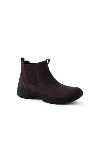 Men's All Weather Chelsea Boots by Lands' End