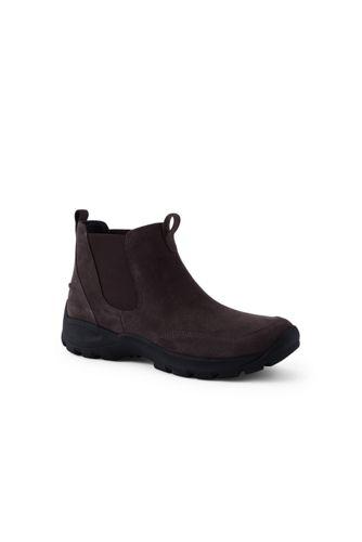 Allwetter Chelsea Boots aus Veloursleder für Herren