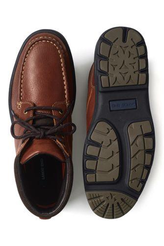 Men's Comfort Leather Chukka Boots