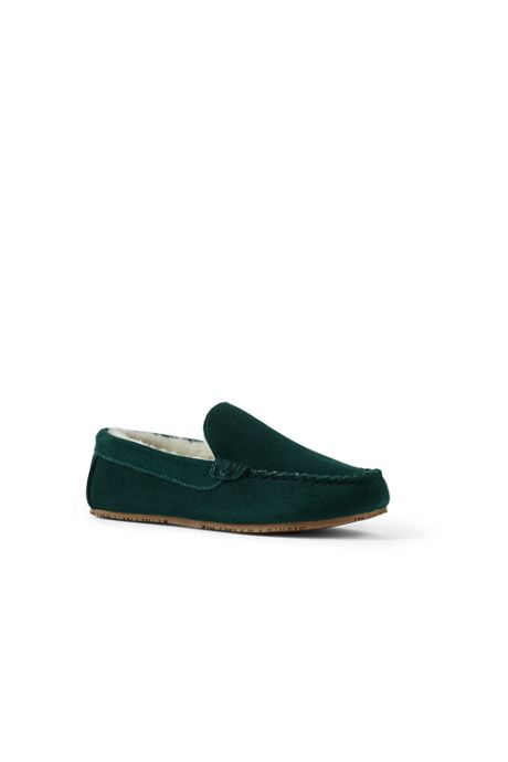 Men's Suede Moc Slippers