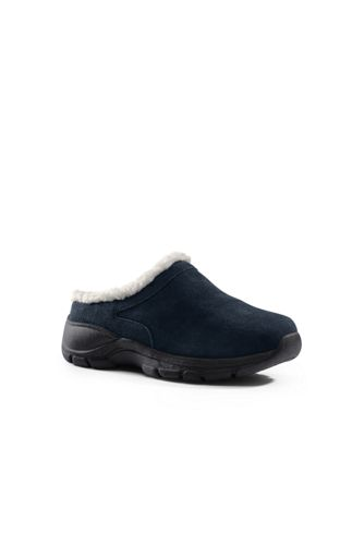 Women's Regular Cosy Suede Mules