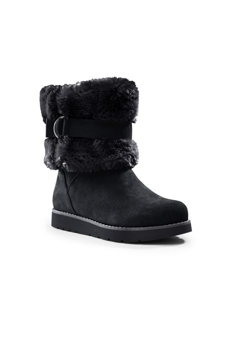 Women's Plush Short Boots