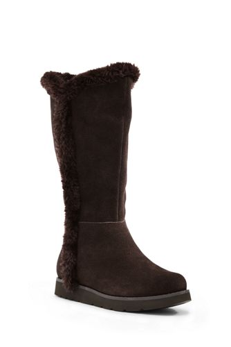 Women's Plush Tall Boots by Lands' End