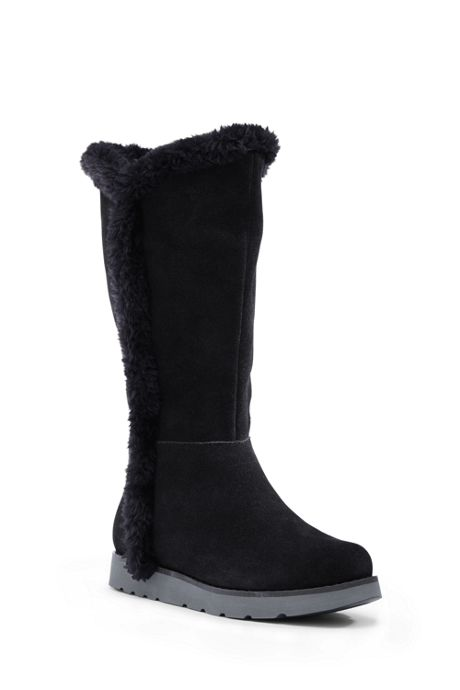 Women's Plush Tall Boots