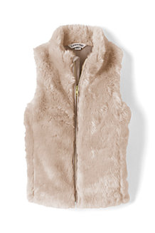 Girls' Faux Fur Gilet