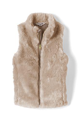 Little Girls' Faux Fur Gilet
