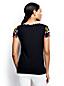 Women's Scarf Print T-shirt