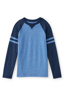 Boys' Textured Colourblock Tee
