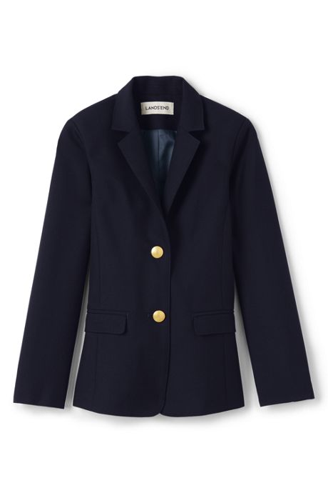 School Uniform Little Girls Hopsack Blazer