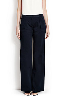 Women's Cotton Drape Trousers