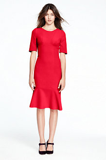 Women's Ruched Bodice Dress