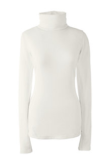 Women's Thermaskin Heat Natural Roll Neck
