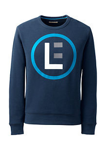 Men's Athleisure Logo Sweatshirt