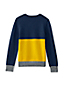 Boys' Colourblock V-Neck Jumper