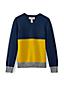 Colorblock-Pullover für große Jungen