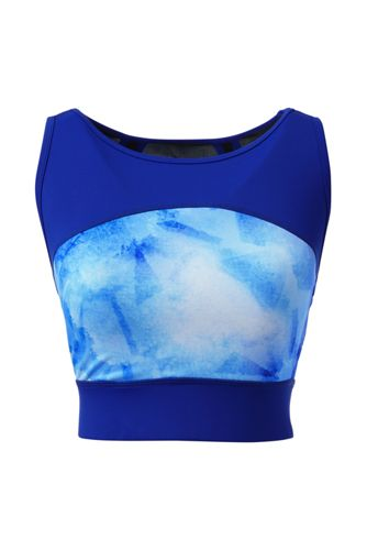Women's LE Patterned Sport Speed Long Bra