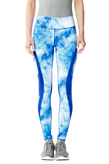 Women's Patterned LE Sport Running Leggings