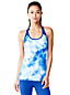 Women's LE Sport Studio Support Patterned Vest Top