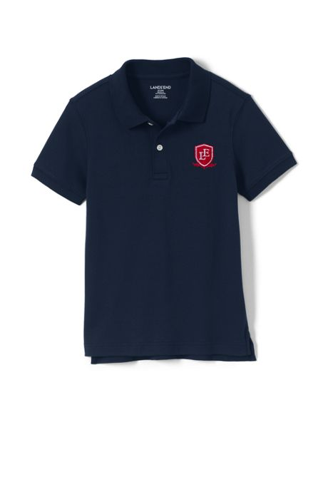 Logo Little Kids Tailored Fit Interlock Polo
