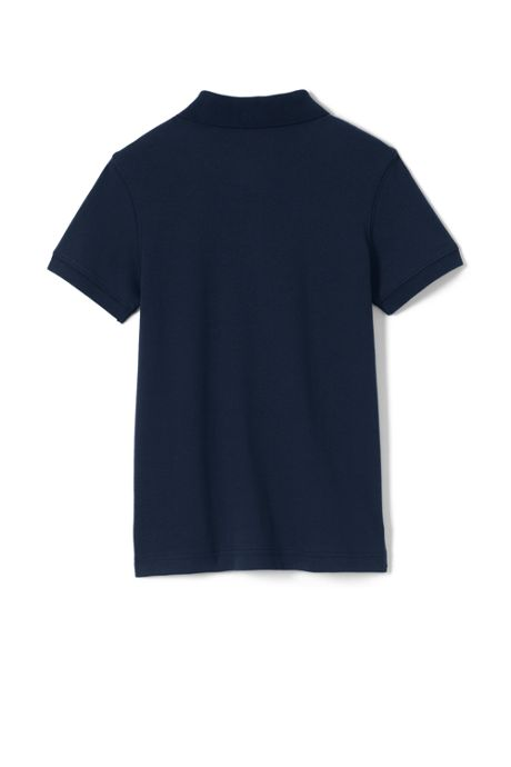 Little Kids Tailored Fit Interlock Polo