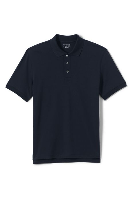 School Uniform Men's Tailored Fit Interlock Polo