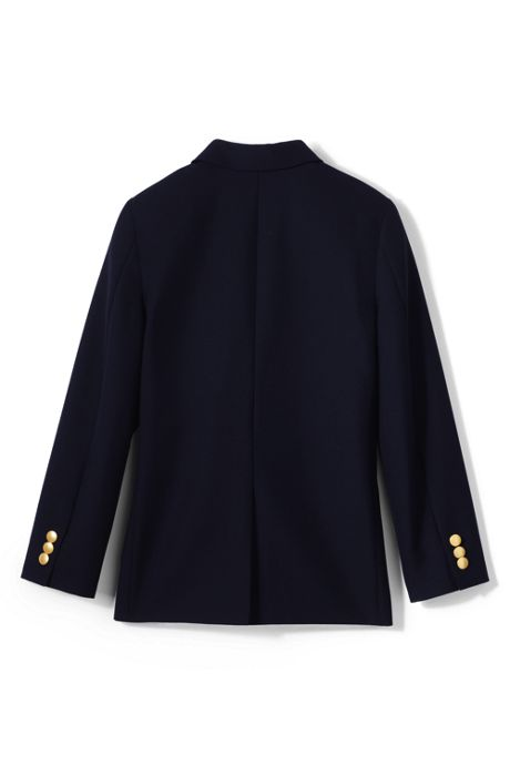 School Uniform Boys Tailored Fit Hopsack Blazer
