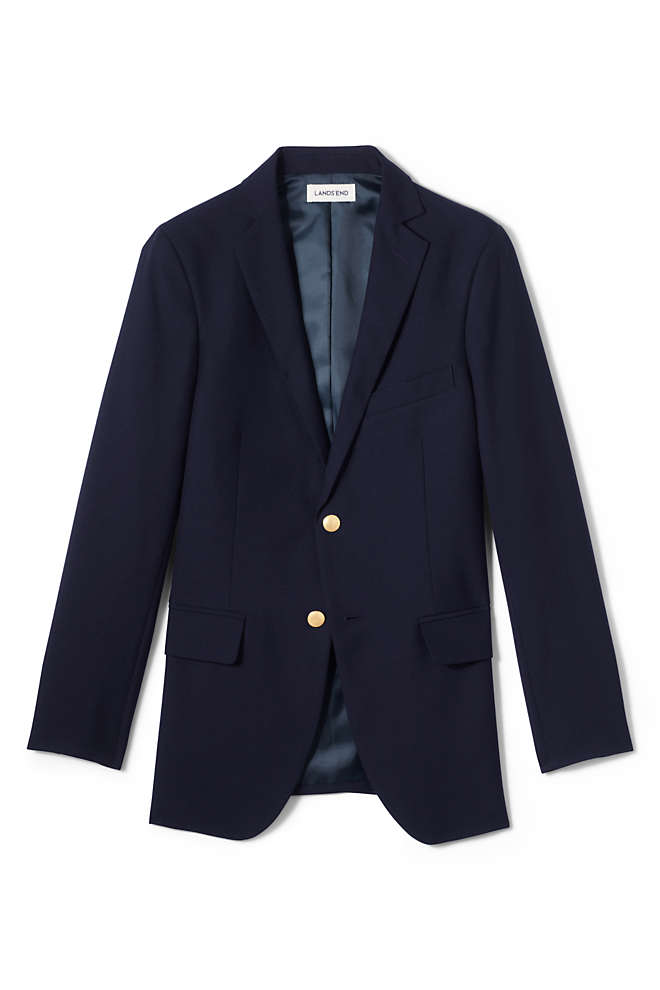 Men's Tailored Fit Hopsack Blazer, Front