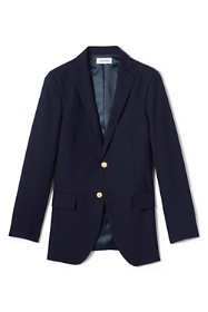 School Uniform Men's Tailored Fit Hopsack Blazer