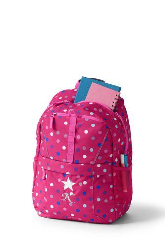 Gemusterter ClassMate Rucksack für Mädchen