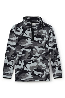 Boys' ThermaCheck 100 Print Fleece Pullover