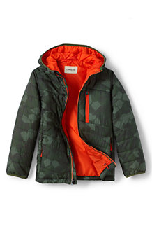 Boys' Packable Patterned PrimaLoft® Jacket