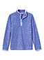 Little Girls' Embossed Fleece Half-zip Pullover