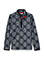 Little Girls' Patterned Fleece Half-zip Pullover