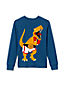 Little Boys' Long Sleeve Appliqué Graphic Tee