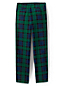 Little Boys' Iron Knee® Plaid Cadet Trousers