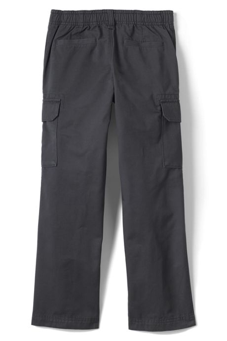 School Uniform Boys Husky Iron Knee Pull On Cargo Pants